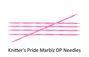 Dizzy Sheep - Knitter's Pride Marblz Double Pointed Needles