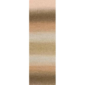 Dizzy Sheep - Lang Jawoll Magic Degrade _ 0068, Brown, Taupe, Gray, Pink, Lot: 1639