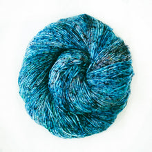 Load image into Gallery viewer, Dizzy Sheep - Malabrigo Mechita _ 709, Lago, Lot: -----