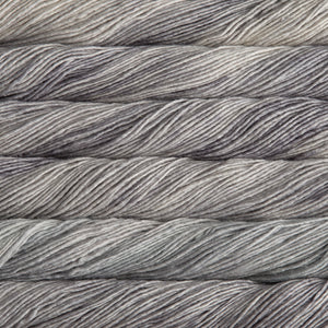 Dizzy Sheep - Malabrigo Silky Merino _ 429, Cape Cod Gray, Lot: -----