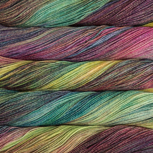 Dizzy Sheep - Malabrigo Sock _ 866, Arco Iris, Lot: -----