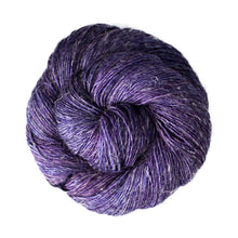 Load image into Gallery viewer, Dizzy Sheep - Malabrigo Susurro _ 141, Dewberry, Lot: -----