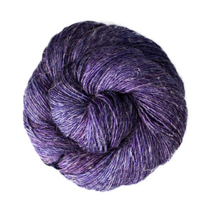 Dizzy Sheep - Malabrigo Susurro _ 141, Dewberry, Lot: -----