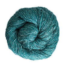 Load image into Gallery viewer, Dizzy Sheep - Malabrigo Susurro _ 412, Teal Feather, Lot: -----