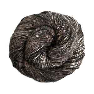 Dizzy Sheep - Malabrigo Susurro _ 665, Obsidian, Lot: -----
