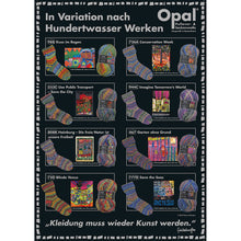 Load image into Gallery viewer, Dizzy Sheep - _Opal Hundertwasser 4-ply