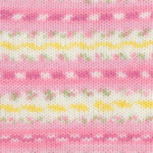 Load image into Gallery viewer, Dizzy Sheep - Plymouth Dreambaby DK Paintpot _ 1412 Pink Daisy Mix lot 618897