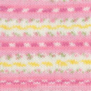 Dizzy Sheep - Plymouth Dreambaby DK Paintpot _ 1412 Pink Daisy Mix lot 618897