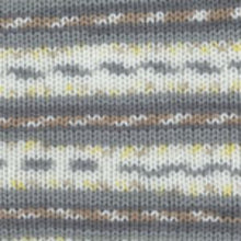 Load image into Gallery viewer, Dizzy Sheep - Plymouth Dreambaby DK Paintpot _ 1413 Grey Yellow Tan lot 625969