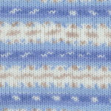 Load image into Gallery viewer, Dizzy Sheep - Plymouth Dreambaby DK Paintpot _ 1415 Blue Tan Multi lot 625969