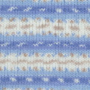 Dizzy Sheep - Plymouth Dreambaby DK Paintpot _ 1415 Blue Tan Multi lot 625969