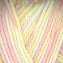 Load image into Gallery viewer, Dizzy Sheep - Plymouth Encore Chunky Colorspun _ 7115, Peach, Yellow, White, Lot: 51984