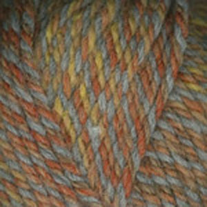 Dizzy Sheep - Plymouth Encore Chunky Colorspun _ 7172, Copper Drift, Lot: 56776