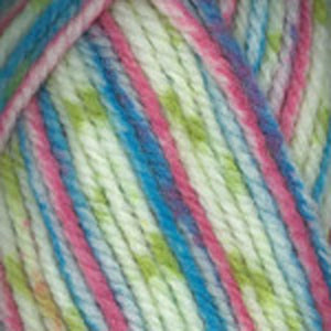 Dizzy Sheep - Plymouth Encore Chunky Colorspun _ 7511, Dark Pastel, Lot: 51985