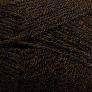 Dizzy Sheep - Plymouth Encore DK _ 1444 Dark Brown Heather lot 53830