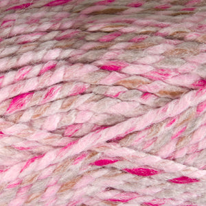 Dizzy Sheep - Plymouth Encore Mega Colorspun _ 7162, Pink Taupe, Lot: 616124