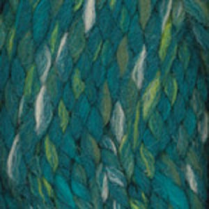 Dizzy Sheep - Plymouth Encore Mega Colorspun _ 7170, Green Mix, Lot: 619855