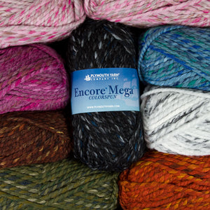Dizzy Sheep - _Plymouth Encore Mega Colorspun