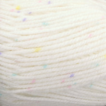 Load image into Gallery viewer, Dizzy Sheep - Plymouth Encore Worsted Colorspun _ 7403 White Girl Spot lot 625632