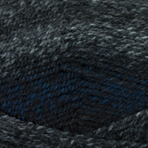 Dizzy Sheep - Plymouth Encore Worsted Colorspun _ 7600 Black & Blue lot 615282