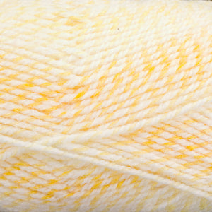 Dizzy Sheep - Plymouth Encore Worsted Colorspun _ 7748 Lemon Sherbert lot 618659