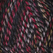Load image into Gallery viewer, Dizzy Sheep - Plymouth Encore Worsted Colorspun _ 7811 Red Black lot 625063