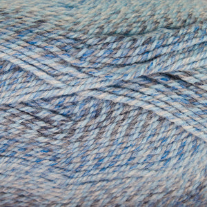 Dizzy Sheep - Plymouth Encore Worsted Colorspun _ 7827 Multi Blue Drift lot 625630