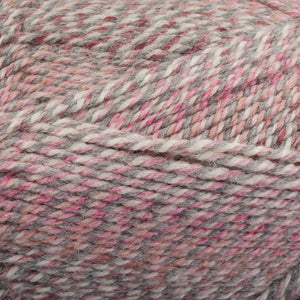 Dizzy Sheep - Plymouth Encore Worsted Colorspun _ 7990 Raspberry Drift lot 628259
