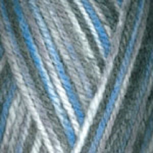 Dizzy Sheep - Plymouth Encore Worsted Colorspun _ 8002 Blues lot 621040