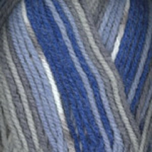 Dizzy Sheep - Plymouth Encore Worsted Colorspun _ 8121 Blue Jeans lot 623378