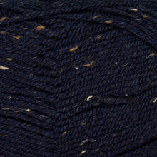 Load image into Gallery viewer, Dizzy Sheep - Plymouth Encore Worsted Tweed _ 5854 Navy lot 626979