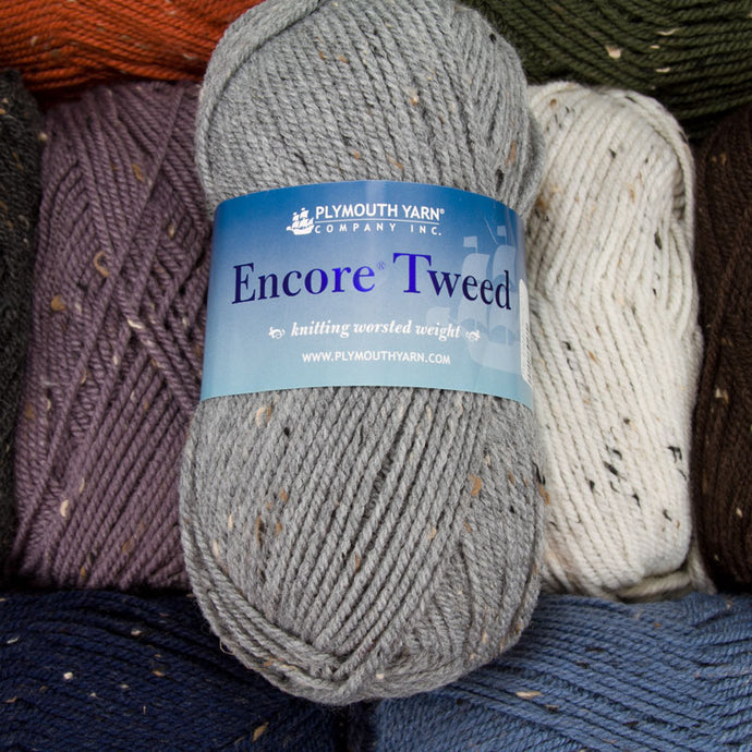 Dizzy Sheep -_ Plymouth Encore Worsted Tweed