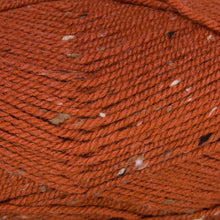 Load image into Gallery viewer, Dizzy Sheep - Plymouth Encore Worsted Tweed _ T456 Spiced Pumpkin lot 55227