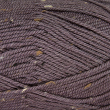 Load image into Gallery viewer, Dizzy Sheep - Plymouth Encore Worsted Tweed _ T461 Grape Jam lot 56570
