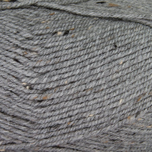 Dizzy Sheep - Plymouth Encore Worsted Tweed _ T789 Grey lot 626979
