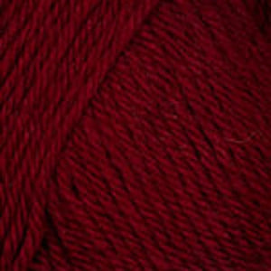 Dizzy Sheep - Plymouth Galway Worsted _ 0772 Cabernet Heather lot 5144