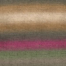 Load image into Gallery viewer, Dizzy Sheep - Plymouth Gina _ 023, Tan, Natural, Olive, Magenta, Sage, Lot: 616123