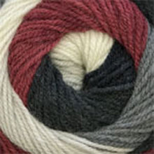 Load image into Gallery viewer, Dizzy Sheep - Plymouth Hot Cakes _ 0003, Burgundy Mix, Lot: 624601