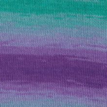 Load image into Gallery viewer, Dizzy Sheep - Plymouth Pendenza _ 005, Purple/Teal Mix, Lot: 3495