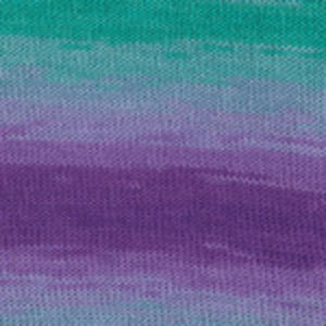 Dizzy Sheep - Plymouth Pendenza _ 005, Purple/Teal Mix, Lot: 3495