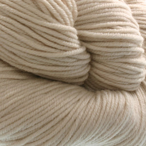 Dizzy Sheep - Plymouth Worsted Merino Superwash _ 033 Cream lot 425837