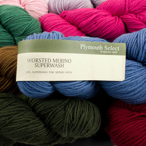 Dizzy Sheep - _Plymouth Worsted Merino Superwash