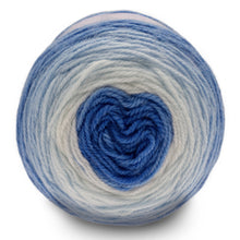 Load image into Gallery viewer, Dizzy Sheep - Sirdar Snuggly Pattercake DK _ 0751, Wild Blueberry Swirl, Lot: 1801