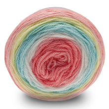 Load image into Gallery viewer, Dizzy Sheep - Sirdar Snuggly Pattercake DK _ 0752, Candy Cane, Lot: 1712