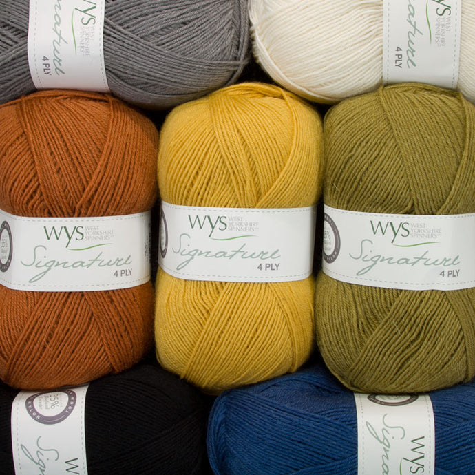 Dizzy Sheep - West Yorkshire Spinners Signature 4 Ply