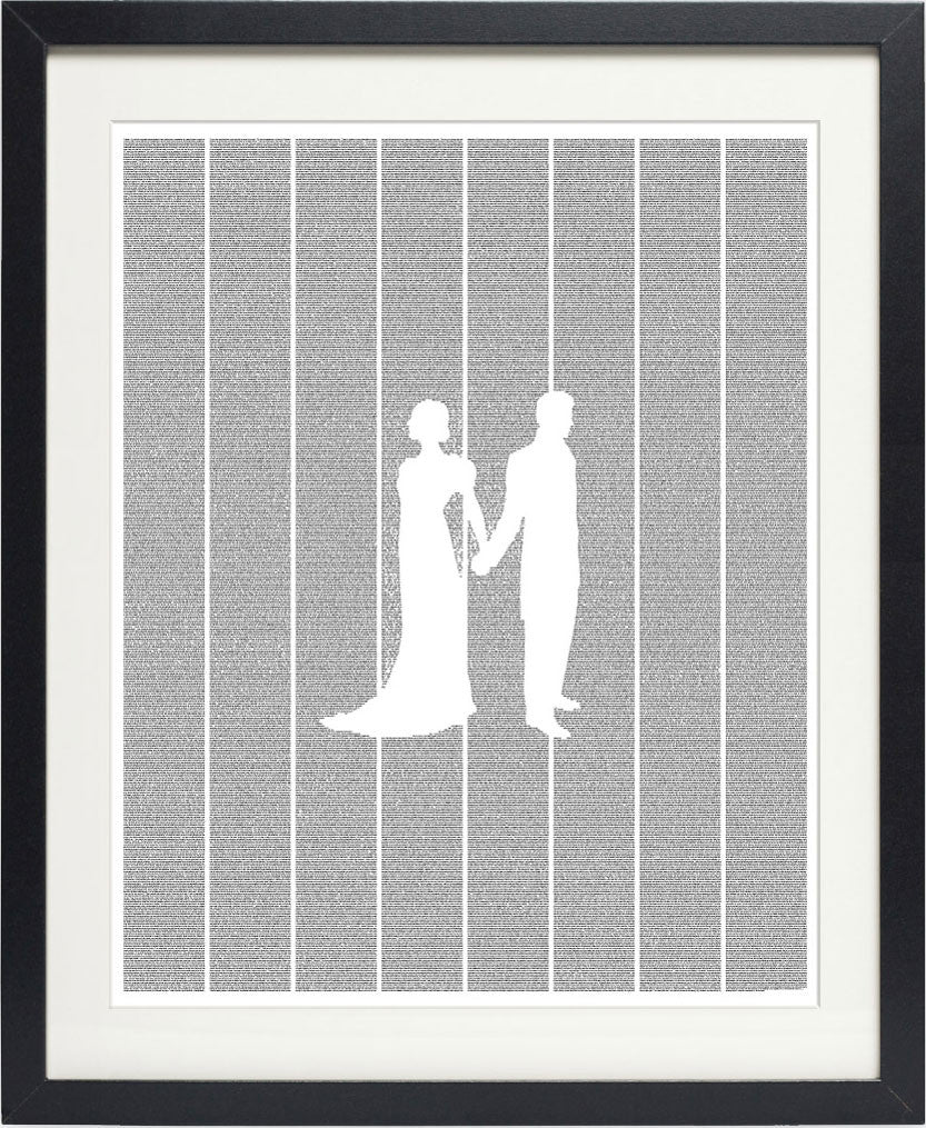 pride and prejudice poster art print black framed postertext
