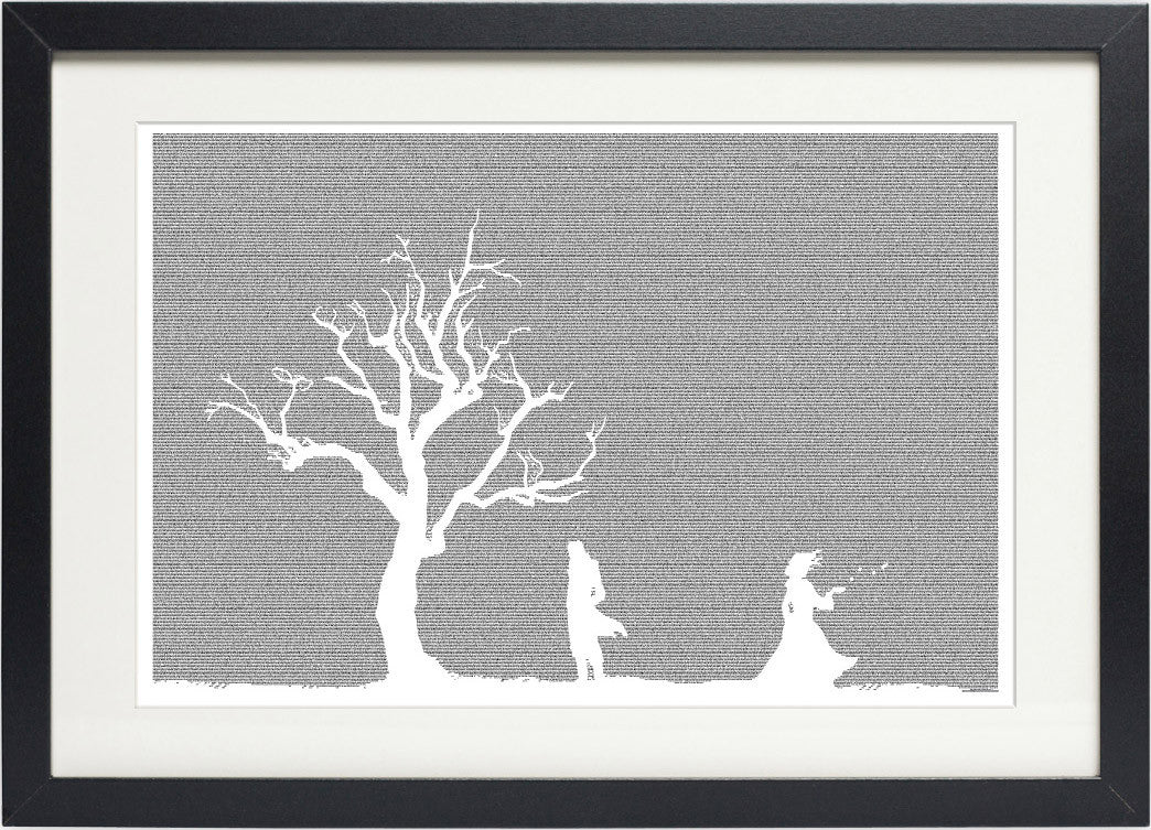 wuthering heights poster art print black framed postertext