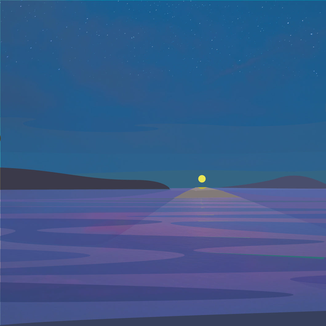 Moonlight on the James Bay - Digital Print on Paper