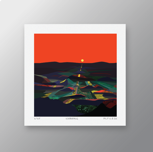 Across the Lost Plain – Signed Limited Edition Print