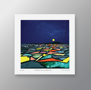 Freezing Harbour - Signed Limited Edition Print